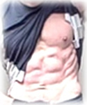 male stomach abs image