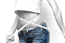 fit woman in jeans image